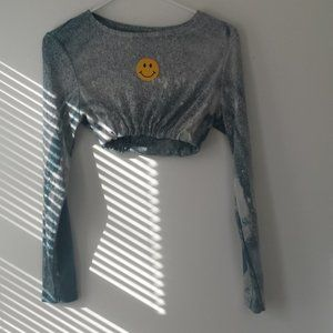 Upcycled Eddie Bauer Long Sleeve Top